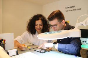 Telephone City in de krant: Haarlems Nieuwsblad schrijft over de nieuwe Samsung Service Partner