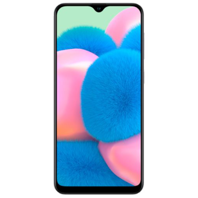 Samsung Galaxy A30s White Front